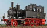 German Steam Locomotive BR 70 052, Ep. IIb, Rbd. Regensburg Passau, NEM