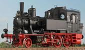 German Steam Locomotive BR 70 083, Museum, BD München, Bw Landshut, NEM