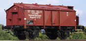 German Freight Car Class K 06l, DRG Ep. II, NEM