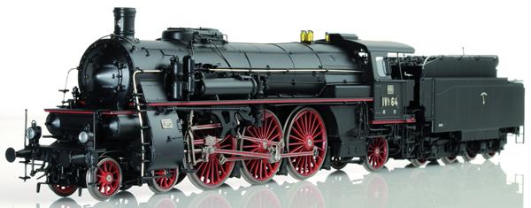 Lematec HO-2081 - Baden Express Locomotive BAD IVH Black Livery
