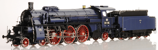 Lematec HO-2085 - Baden Express Locomotive BAD IVH Blue Livery