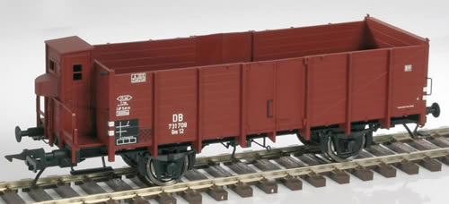 LenzO 42111-02 - Freight car 0m12 with braking house
