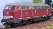Diesel locomotive BR216  red  Ep. IV