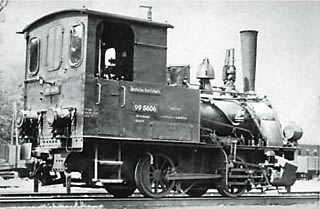 LGB 20180 German Steam Locomotive BR 99 of the DR