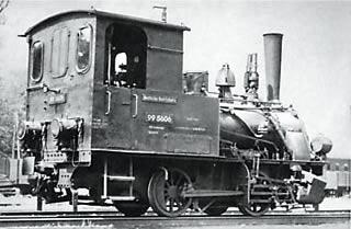 LGB 20180 - German Steam Locomotive BR 99 of the DR