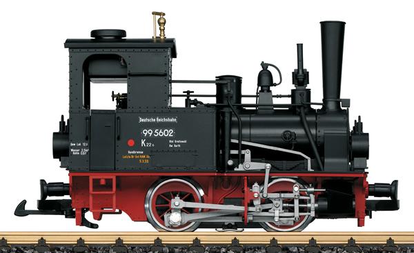 LGB 20183 - German Steam Locomotive 99 5602 of the DR (Sound)
