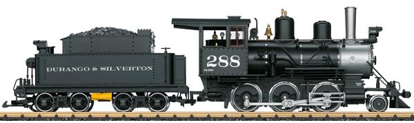 LGB 20283 - USA Steam Locomotive of the D&S (Sound)