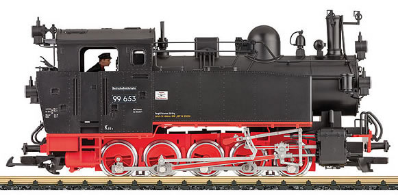 LGB 20480 - German Steam Locomotive BR 99 653 of the DR (Sound)