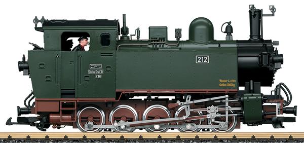 LGB 20481 - German Steam Locomotive Class VI of the S.St.E. (Sound)