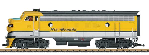 LGB 20579 - USA Diesel Locomotive F7 A Unit of the DRGW (Sound)