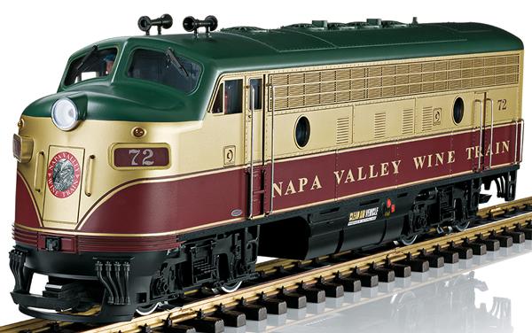 LGB 20580 - Napa Valley Wine Train Diesel Locomotive (Sound)