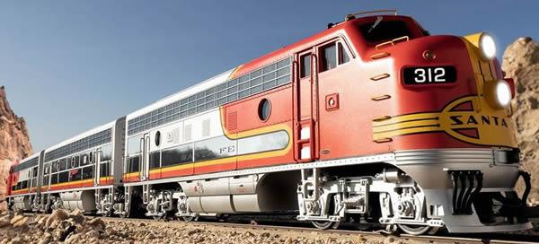 LGB 20581 - US Diesel Locomotive F7A of the Santa Fe (Sound)