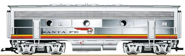 LGB 20582 - US Diesel Locomotive F7 B unit of the Santa Fe (Sound)