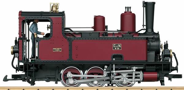LGB 20782 - Steam Locomotive LuLu No.36 Corpet - Louvet France (Sound)