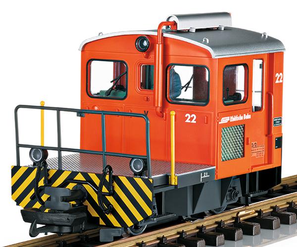LGB 21411 - Swiss Diesel Rangiertraktor of the RhB (Sound)