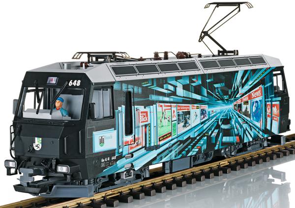 "LGB 21429 - Swiss Electric Locomotive ""Blick"" Class Ge 4/4 III of the RHB (Sound)"