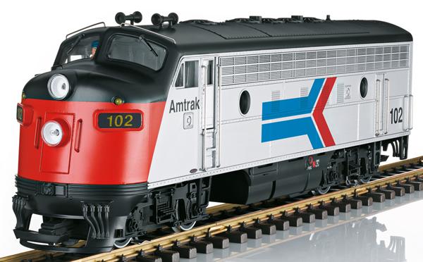 LGB 21580 - USA Diesel Locomotive Amtrak F7A (Sound)