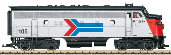 LGB 21582 - USA Diesel Locomotive Amtrak F7A (Sound)