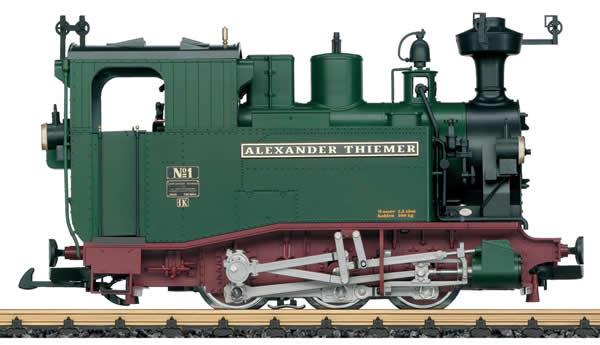 LGB 21980 - German Steam Locomotive Class IK of the SächsStsEB (Sound)