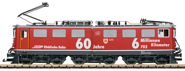LGB 22061 - Swiss Electric Loco Ge6/6 of the RhB (50 Year Anniversary Loco New Tooling)