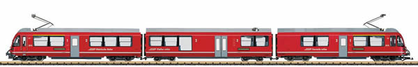 LGB 22225 - Swiss Class ABe 8/12 Allegra Electric Powered Rail Car Train (Sound Decoder)