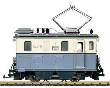 LGB 23461 - Electric Locomotive Class HGe 2/2 (Sound)