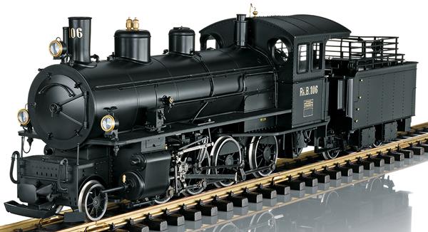 LGB 23530 - Swiss Steam Locomotive G 4/5 of the RhB (Sound)