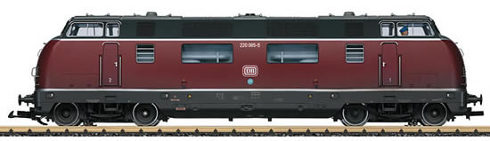 LGB 23945 - German Diesel Locomotive Cl 220 of the DB (Sound Decoder)