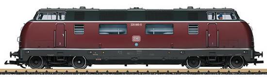 LGB 23945 - German Diesel Locomotive Class 220 of the DB (Sound Decoder)