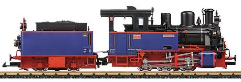 LGB 24266 - Steam Locomotive with Tender Nicki & Frank S ...