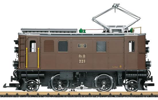 LGB 24450 - Swiss Electric Locomotive Ge 2/4 of the RhB (DCC Sound Decoder)