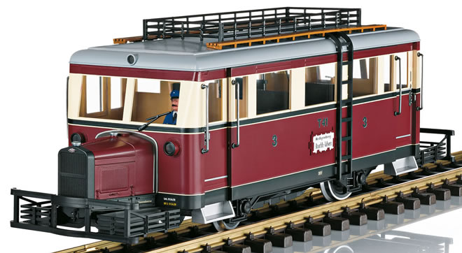 LGB 24661 - DEV Railbus T41 (DCC Sound Decoder)