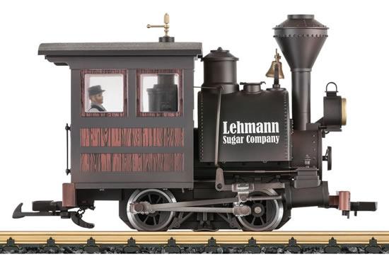 LGB 24772 - Steam Locomotive Lehmann Sugar Company Porter (DCC Sound Decoder)