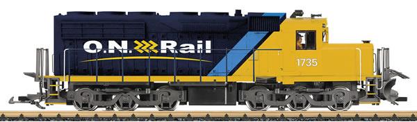 LGB 25556 - USA Diesel Locomotive SD 40 of the ONT (Sound Decoder)