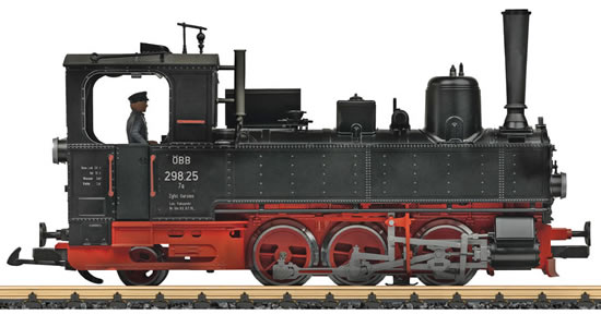 LGB 25702 - Austrian Steam Locomotive Class 298 of the OBB (DCC Sound Decoder)