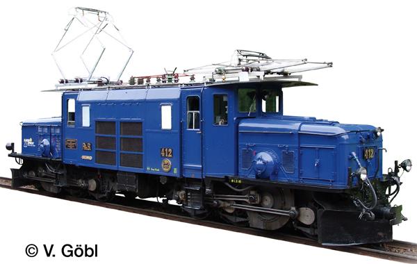 LGB 26602 - Swiss Electric Locomotive Class Ge 6/6 I of the RHB (Sound)