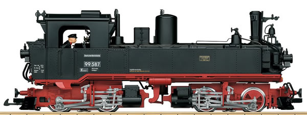 LGB 26845 - German Steam Locomotive IV K of the DR (Sound)