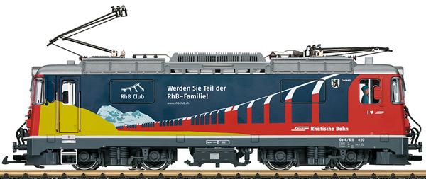 "LGB 28445 - Swiss Electric Locomotive ""RhB Club"" Class Ge 4/4 II of the RHB (Sound)"