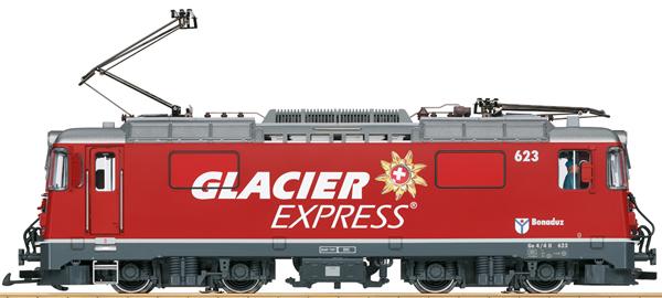 """LGB 28446 - Swiss Electric Locomotive Class Ge 4/4 II """"Glacier Express"""" (Sound)"""
