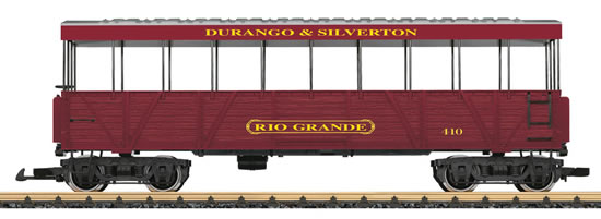 LGB 30261 - Rio Grande Open-Air Observation Car