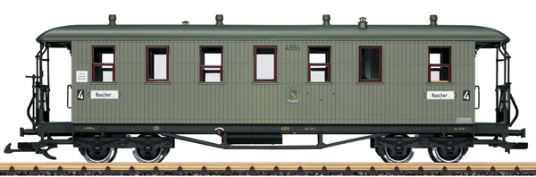 LGB 31354 - 4th Class Passenger Coach