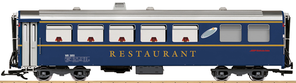 LGB 31681 - Swiss Dining Car