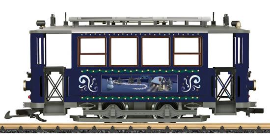 LGB 32351 - Trailer for the Christmas Streetcar