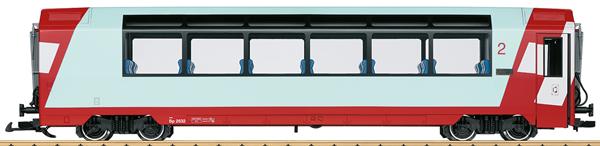 LGB 33671 - RhB 2nd Class Panorama Car