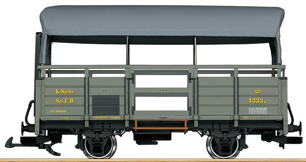 LGB 40271 - Saxon freight car 4333K