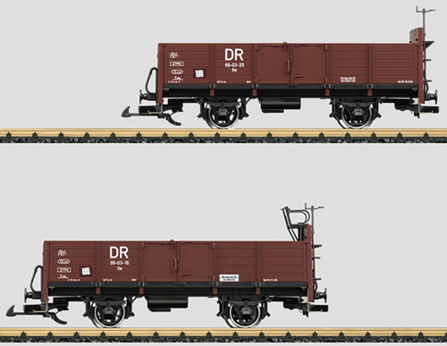 LGB 41031 - German 2pc Gondola Set of the DR