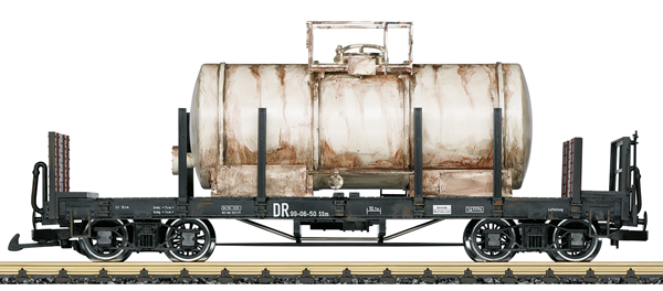 LGB 42591 - Fire Extinguishing Water Car - Weathered