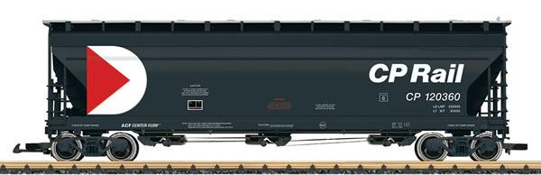 LGB 43821 - CP Rail Center Flow Hopper Car, No 120322