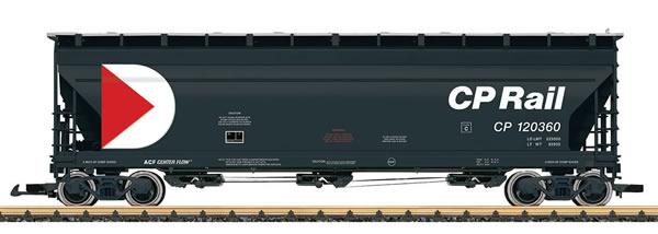 LGB 43822 - CP Rail Center Flow Hopper Car, No 120360