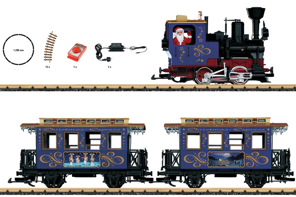 LGB 70305 - Christmas Train Starter Set